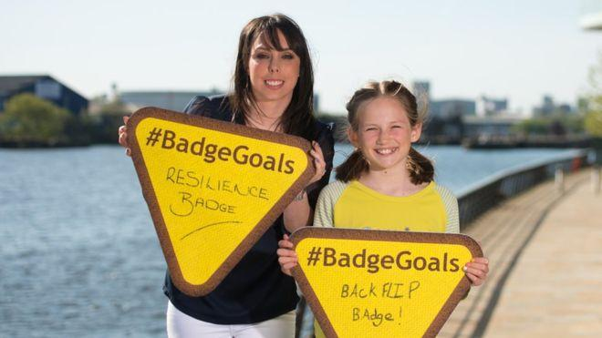 Girlguiding overhauls badges to help girls 'thrive'
